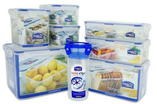 Bộ 8 Hộp nhựa đựng thức ăn Lock&Lock Classic HPL827S002