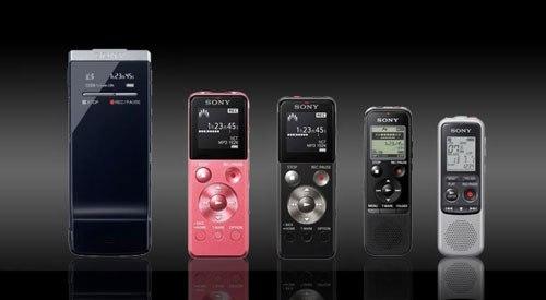 máy ghi âm Sony