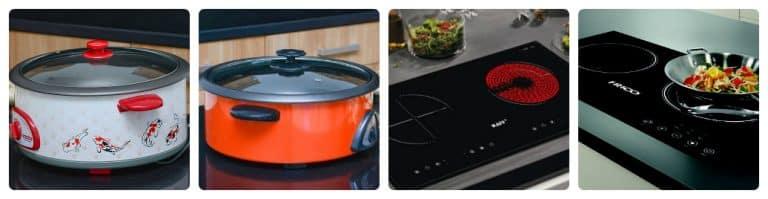 so sánh giữ bếp từ và nồi lẩu điện