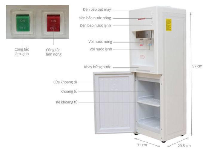máy nước uống nóng lạnh loại nào tốt