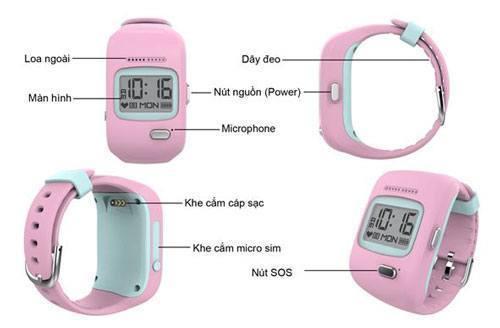 Đồng hồ định vị trẻ em Kiddy Viettel