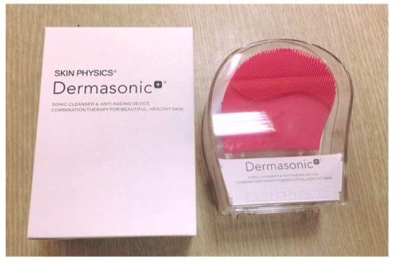 máy rửa mặt dermasonic
