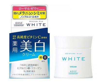 kem dưỡng trắng da ban đêm cho da dầu