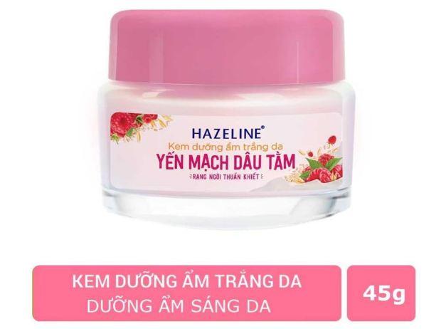 kem dưỡng hazeline yến mạch dâu tằm