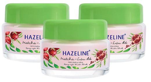 kem dưỡng trắng da hazeline matcha lựu đỏ
