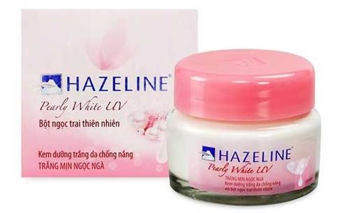 kem dưỡng trắng da hazeline