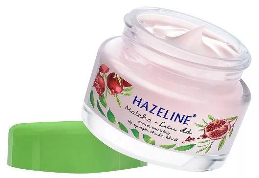 kem dưỡng trắng da mặt hazeline matcha lựu đỏ