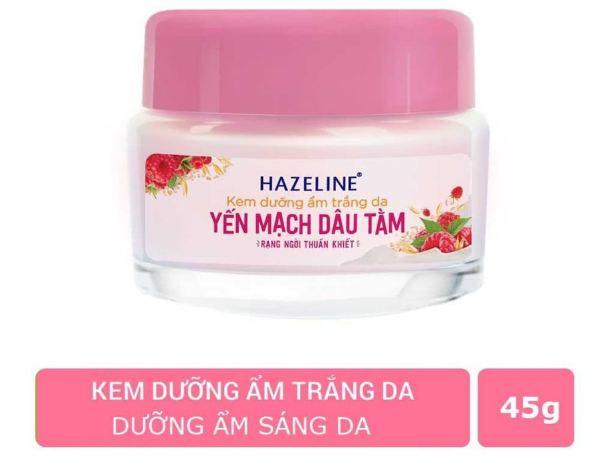 kem dưỡng trắng da mặt hazeline
