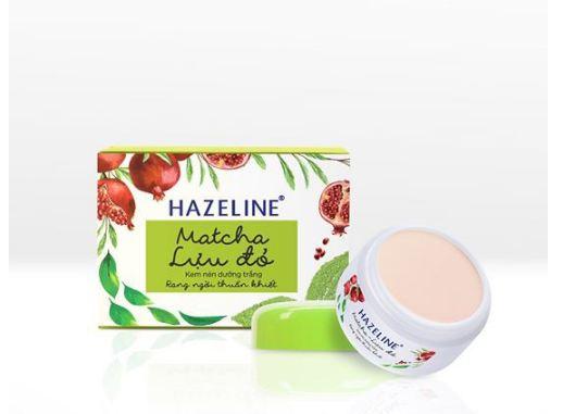 kem dưỡng trắng hazeline matcha lựu đỏ