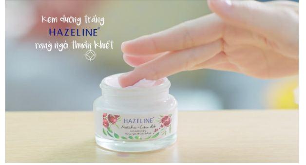 kem dưỡng trắng hazeline