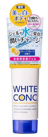 kem trắng da white conc
