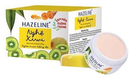 review kem dưỡng trắng da hazeline
